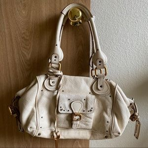 Vintage Chloe Paddington cream medium